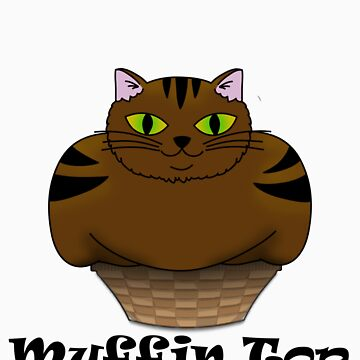 If i fits i sits The Muffin Top Cat by HyperDerpz