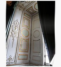 Palace of Caserta window Poster