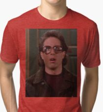 Jerry Seinfeld Glasses Tri-blend T-Shirt
