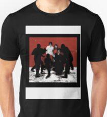 white blood cells stripes Unisex T-Shirt
