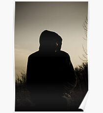 Hooded Silhouette  Poster