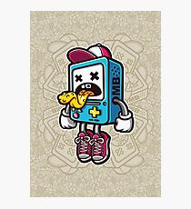 Bad BMO Cartoon Character Photographic Print
