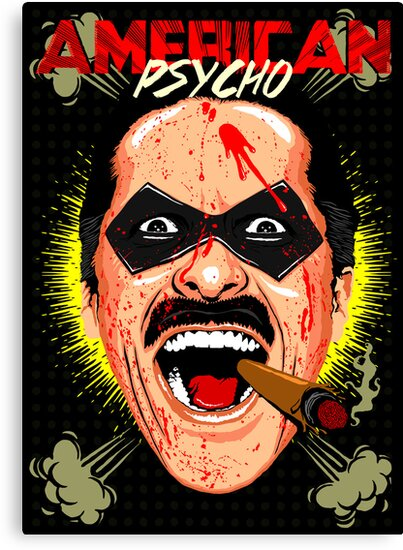 American Psycho Comedian Edition by butcherbilly