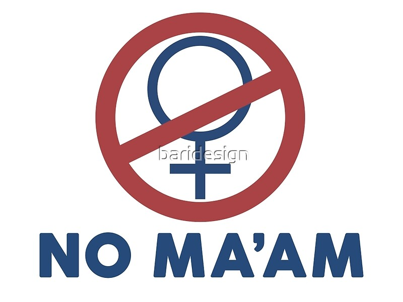 "no ma'am (married with children)"" postersbaridesign 