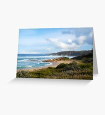 Shore line Greeting Card