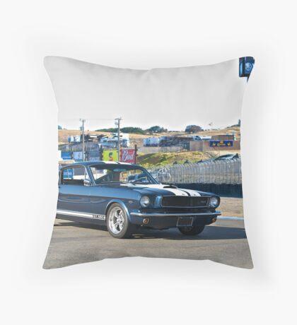 1966 Mustang GT350 II Throw Pillow
