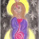 Diosa Maria del Corazon Sagrado  by GoddessSpiral
