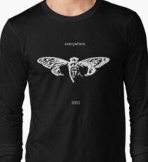 Cicada 3301 everywhere white Long Sleeve T-Shirt