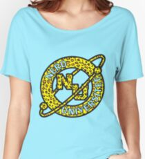 NU Leopard Print Women's Relaxed Fit T-Shirt