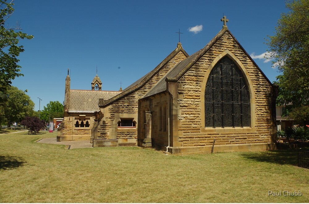 All Saints Anglican Church, Canberra by Paul Chubb