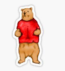 Poo The Bear Sticker