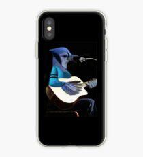 BLUE JAY SPIELEN GUITAR T-SHIRT & VERSCHIEDENES .. iPhone-Hülle & Cover