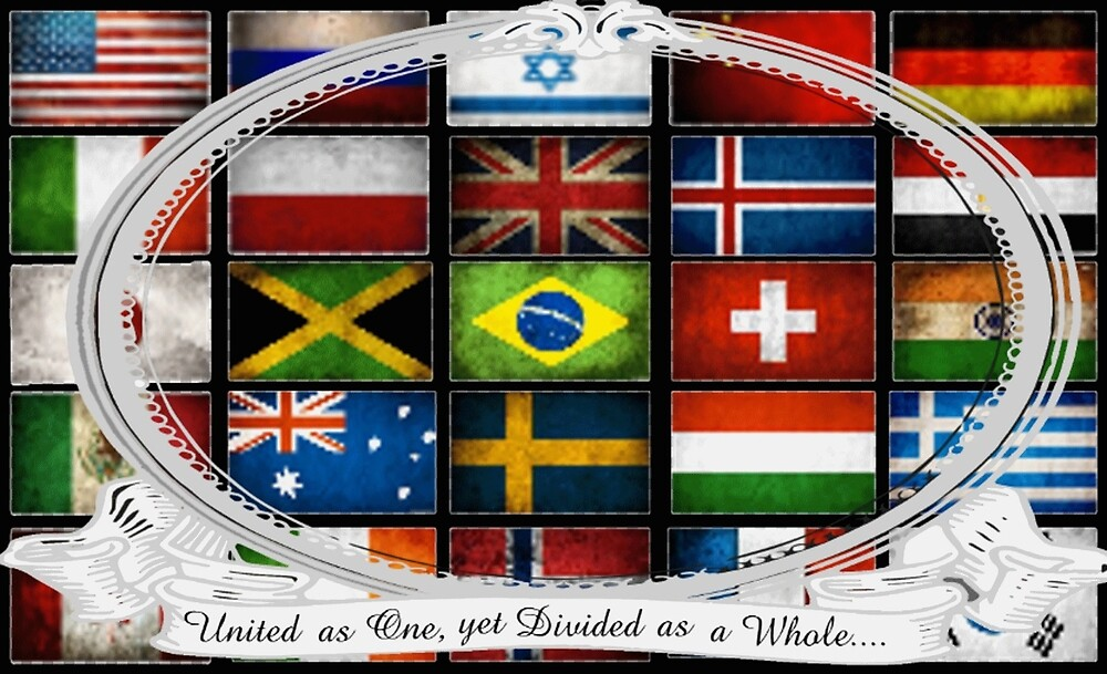 United yet Divided World Merchandise by Whocares9119