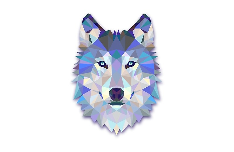 Quot Triangle Wolf Design Quot Laptop Skins By Juankdef Redbubble