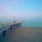 Timmendorfer Strand fog by OLIVER W