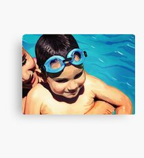 Water Baby Canvas Print