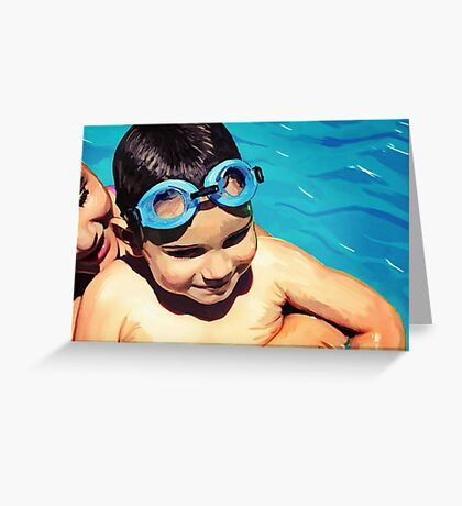 Water Baby Greeting Card
