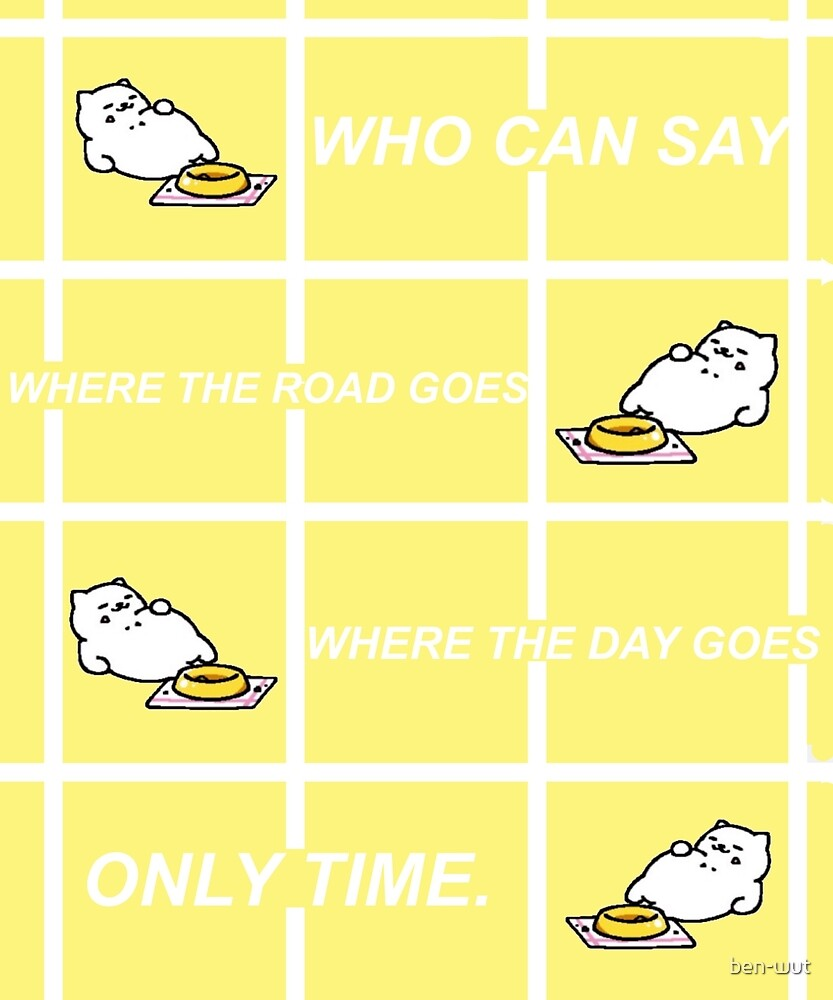TUBBS / ONLY TIME by ben-wut