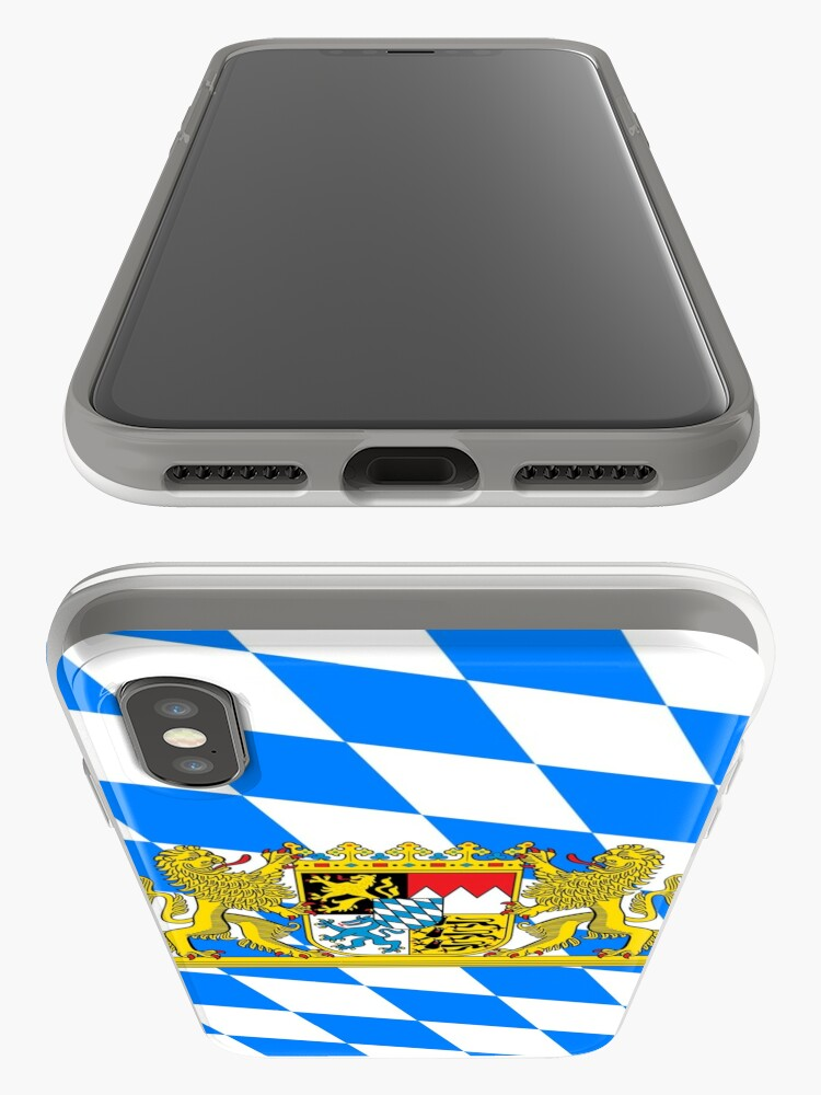 Alternative Ansicht von Bayern COA Flagge iPhone-Hüllen & Cover