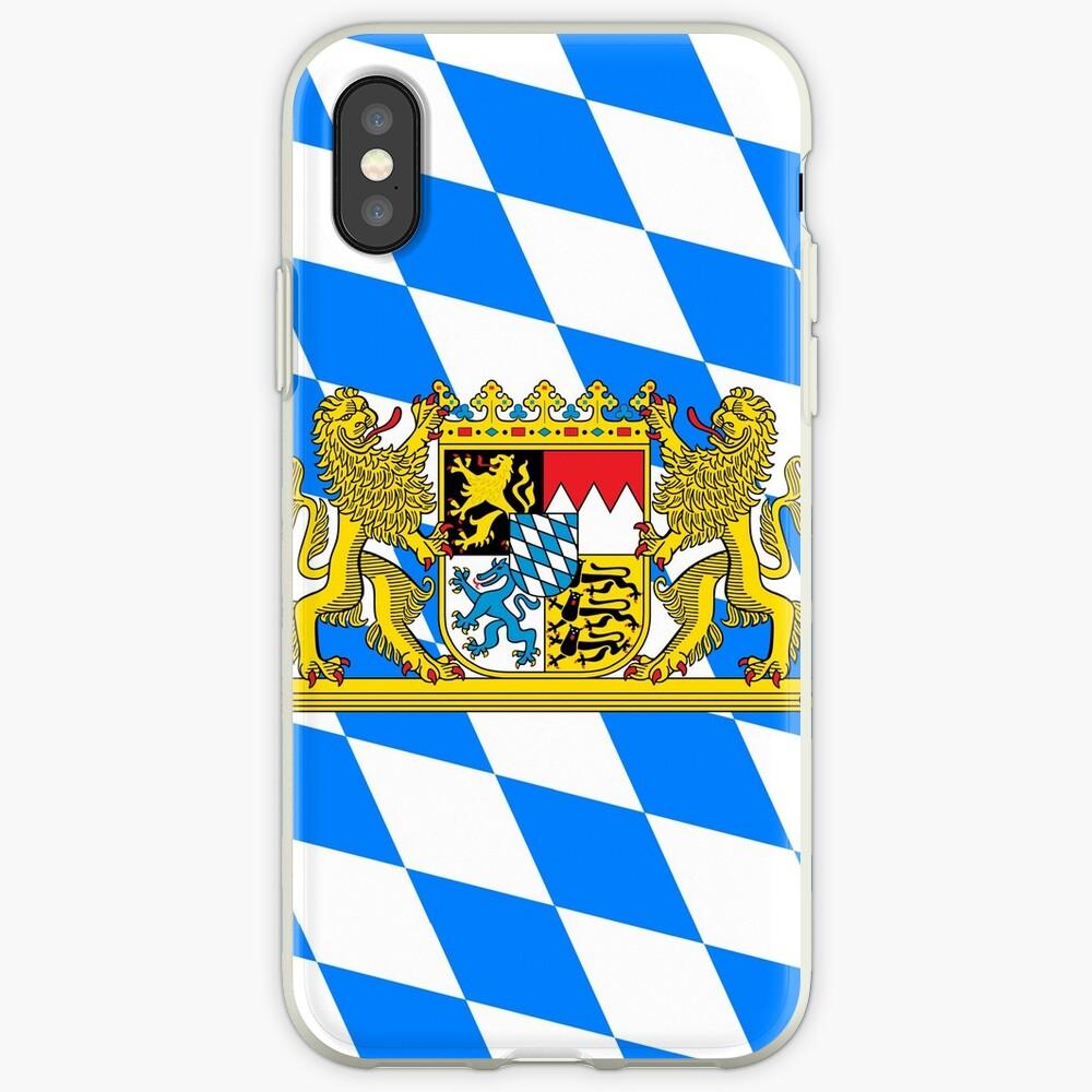Bayern COA Flagge iPhone-Hüllen & Cover