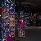 Southbank Skate Park Graffiti, London by JMChown