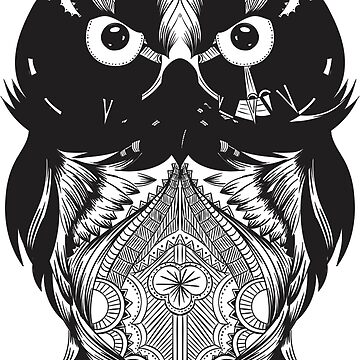 Black Owl Design by juankdef