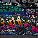 Southbank Skate Park Graffiti v2, London by JMChown