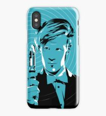The Eleventh Doctor (Blue) iPhone Case/Skin