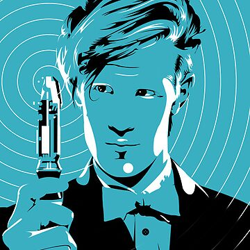 The Eleventh Doctor (Blue) by rlockley