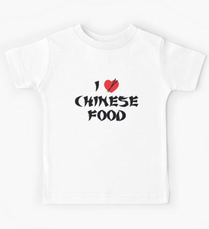 I Love Chinese Food Kids Clothes