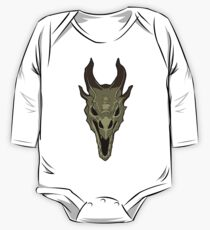 Dragon Skull One Piece - Long Sleeve