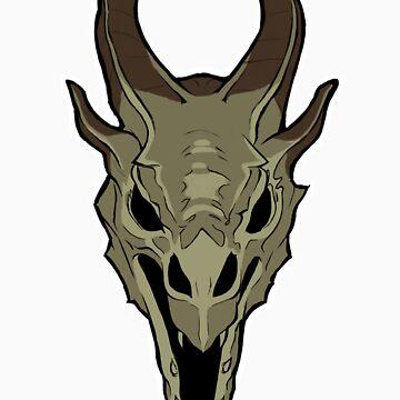 Dragon Skull by peroxids