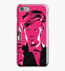 The Eleventh Doctor (Pink) iPhone Case/Skin