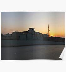 Peshawar sunset Poster
