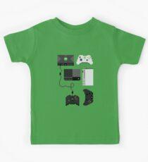 Pixel History - Xbox Kids Tee