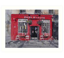 Port O' Leith Art Print