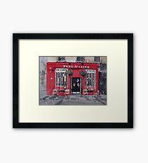 Port O' Leith Framed Print