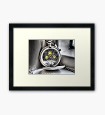 Memory of a Time Lord Framed Print