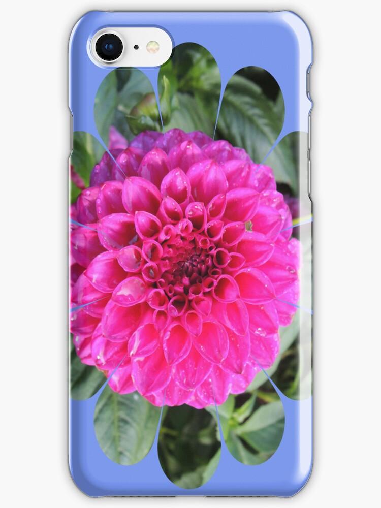 Bright Flower Iphone case by CreativeEm