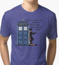 Hitch-hiking Doctor Tri-blend T-Shirt