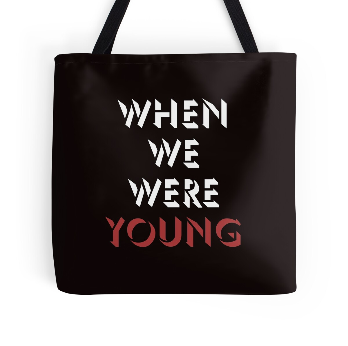 """When We Were Young: Adele"""" Tote Bags By Top40tees"""