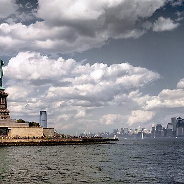 New York, Statue of Liberty by mtsuszycki