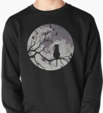The Cat And The Moon Pullover