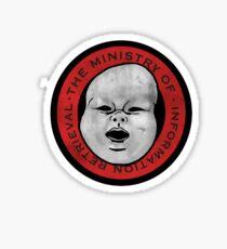 Ministerium für Informationsbeschaffung (ausgewaschen) Sticker