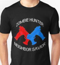 Zombie Hunter - Neighbor Savior Unisex T-Shirt