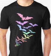 Pastel Bats Unisex T-Shirt