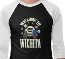 Welcome To Wichita Men's Baseball ¾ T-Shirt