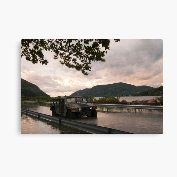 USMA - West Point - After Hurricane Irene Canvas Print
