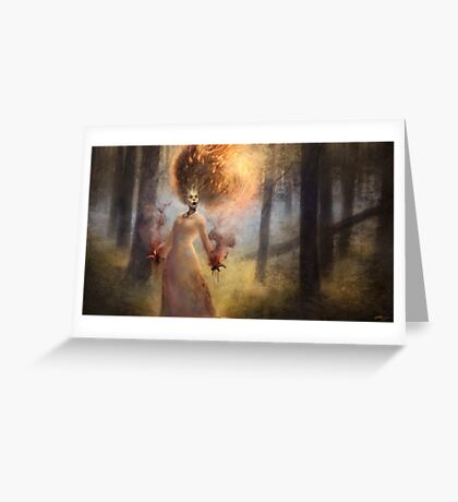 The Meadow Witch Greeting Card