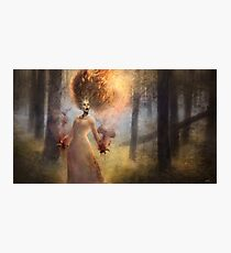 The Meadow Witch Photographic Print